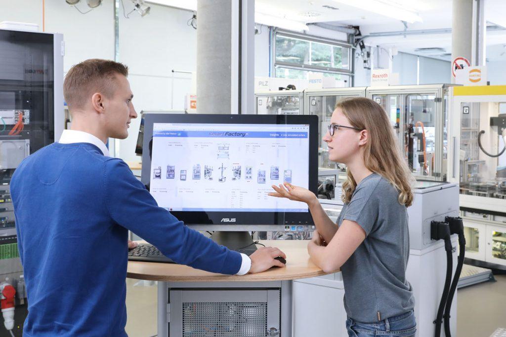 Die Anlage ist voll digitalisiert. Alle Werte lassen sich über ein System echtzeitgetreu ablesen.