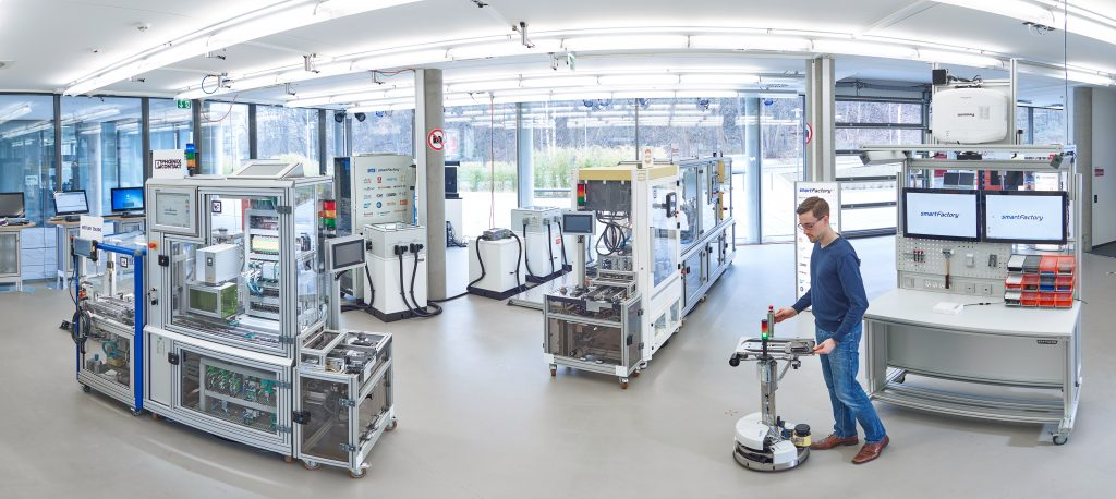 The set-up of the production plant in 2017. Image source: Arnoldi Design