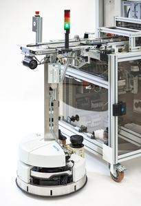Die Roboterplattform der SmartFactoryKL