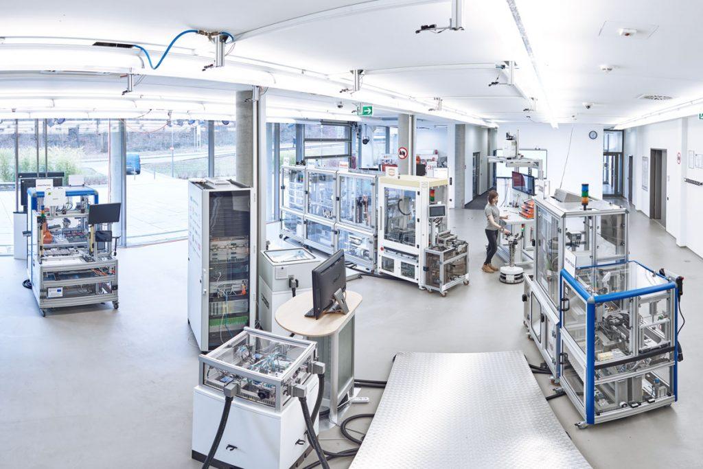 Überblick über die SmartFactoryKL Produktionsanlage